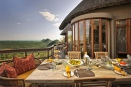 A table with a view at Ulusaba Private Game Reserve