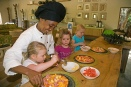 Chefs in training at Rocktail Beach Camp, South Africa