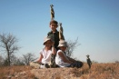 Hanging out with meerkats at Jack's Camp, Botswana