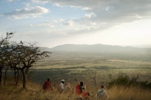 Walking with Maasai warriors at Nduara Loliondo, Tanzania