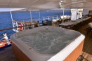 The hot tub at Ocean Adventures MV Athalla II
